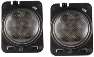 Jeep Wheel Fender Flare Side Marker Light